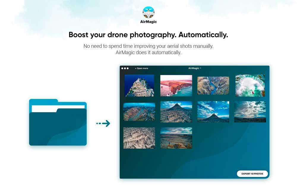 TEST : AirMagic, le logiciel qui retouche vos photos aériennes automatiquement 1
