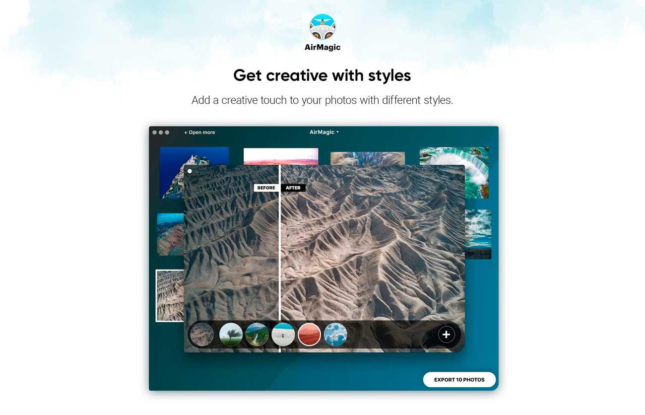 TEST : AirMagic, le logiciel qui retouche vos photos aériennes automatiquement 4