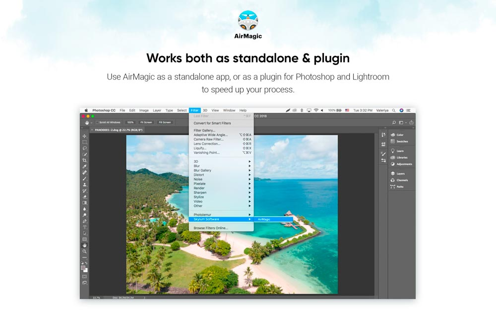 TEST : AirMagic, le logiciel qui retouche vos photos aériennes automatiquement 5