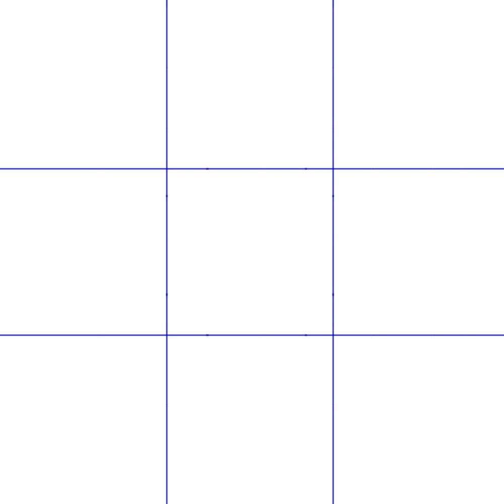 grille regle des tiers en composition