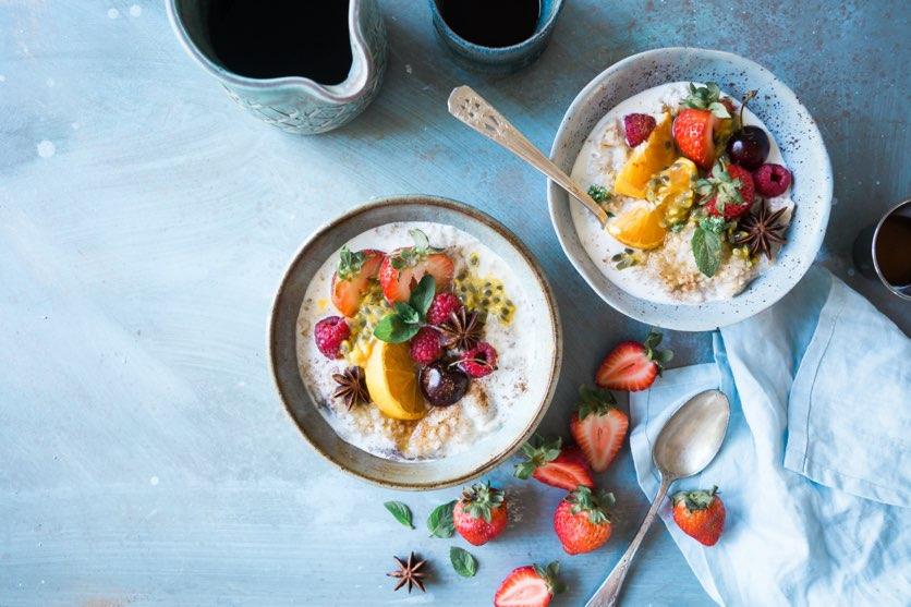 photo culinaire - petit dejeuner