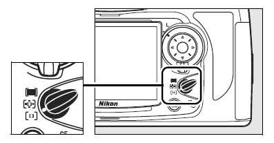 Nikon-D700-AF-selecteur-de-mode