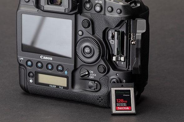 Canon-1D-X-III-cartes-cf-express