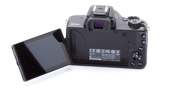 EOS-M50-LCD