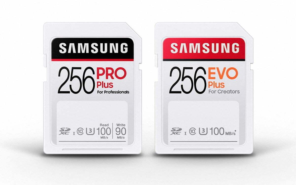 cartes-sd-samsung-pro-evo-256-go