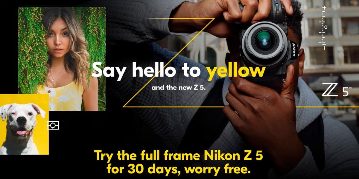 Nikon yellow