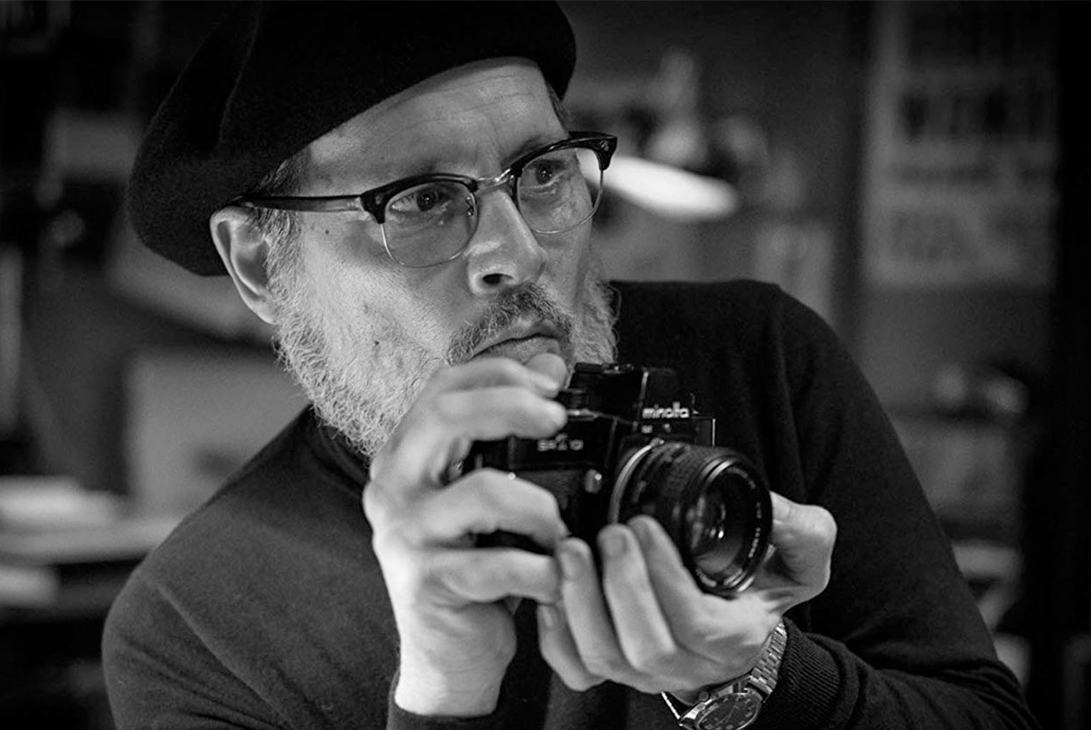 Johnny Depp joue le rôle du photographe W Eugene Smith dans Minamata