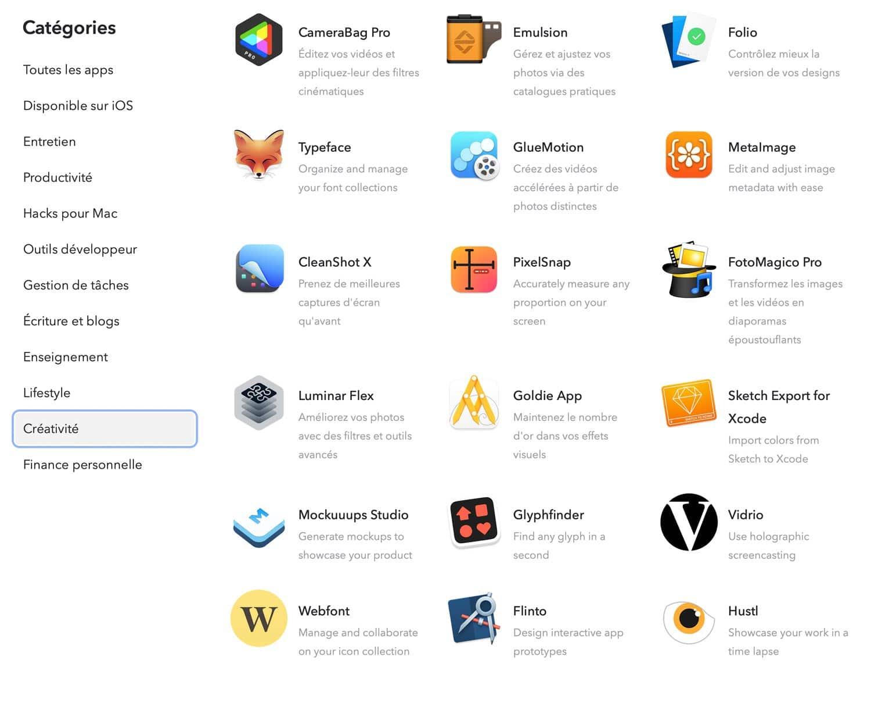 Categories-setapp